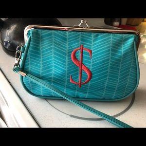 Handbags - Initials Inc Kiss Lock clutch